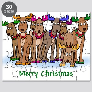 reindeer color Puzzle