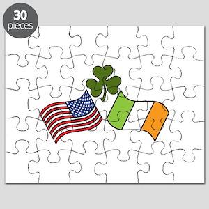 American Irish Flag Puzzle