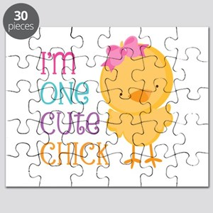 I'm One Cute Chick Puzzle