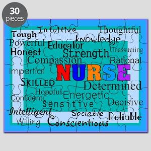Nurse Blanket blue Puzzle