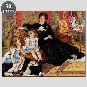 Renoir Family Dog Puzzle