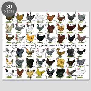 48 Hens Promo Puzzle