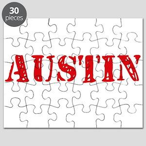 Austin Rustic Stencil Design Puzzle
