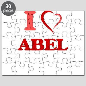 I Love Abel Puzzle