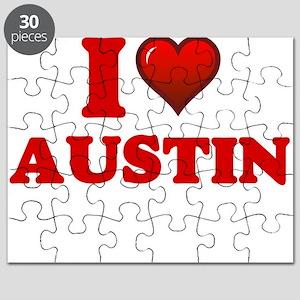 I love Austin Puzzle