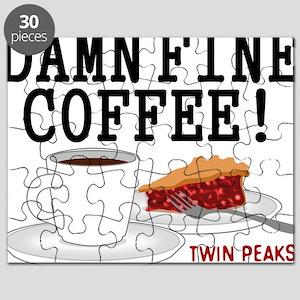 Twin Peaks Damn Fine Coffee Puzzle