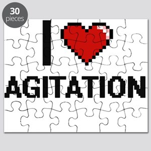 I Love Agitation Digitial Design Puzzle