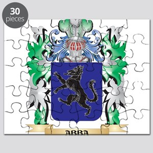 Abba Coat of Arms - Family Crest Puzzle