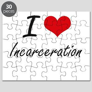 I Love Incarceration Puzzle