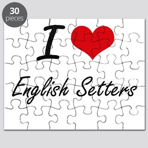 I love English Setters Puzzle