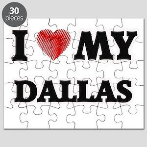 I love my Dallas Puzzle