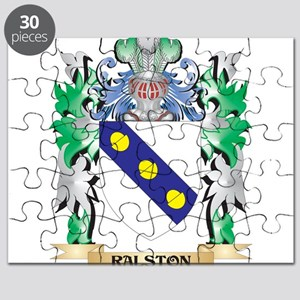 Ralston Coat of Arms - Family Crest Puzzle