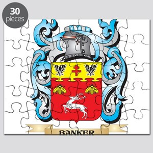 Banker Coat of Arms - Family Crest Puzzle