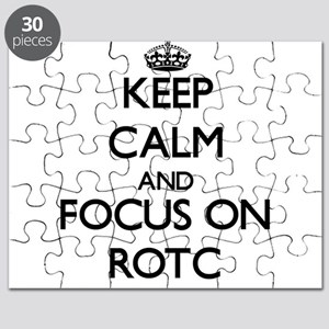 Keep Calm and focus on Rotc Puzzle