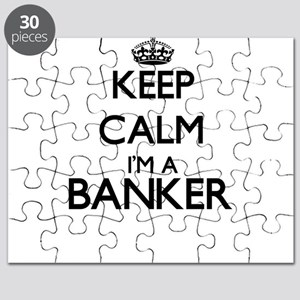 Keep calm I'm a Banker Puzzle