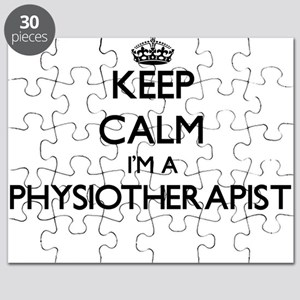 Keep calm I'm a Physiotherapist Puzzle