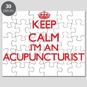 Keep calm I'm an Acupuncturist Puzzle