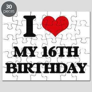 my 16th birthday Puzzle