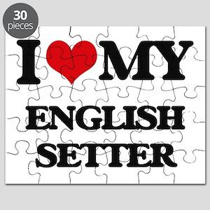 I love my English Setter Puzzle