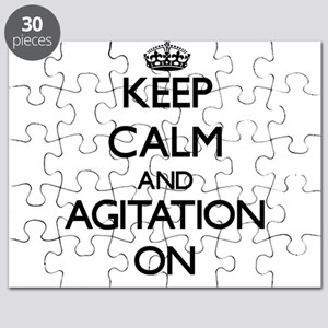 Keep Calm and Agitation ON Puzzle