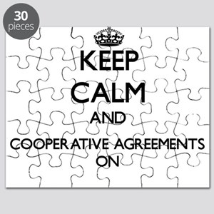 Keep Calm and Cooperative Agreements ON Puzzle