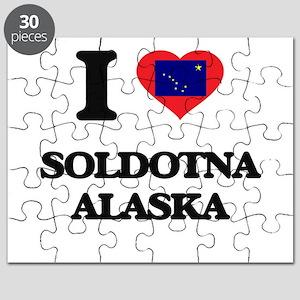 I love Soldotna Alaska Puzzle