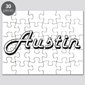 Austin Classic Style Name Puzzle