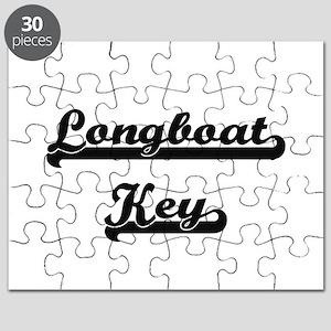 Longboat Key Classic Retro Design Puzzle