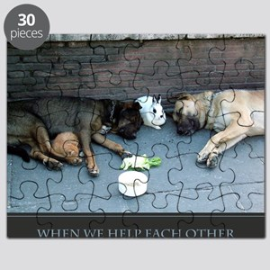 When We Help Each Other We Help Ourselves p Puzzle