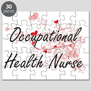 Occupational Health Nurse Artistic Job Desi Puzzle