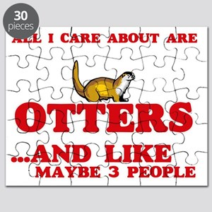 All I care about are Otters Puzzle