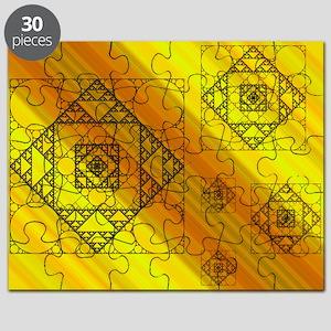 Fractal Geometry Puzzle