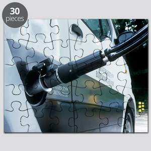 Hydrogen fuel cell car refuelling - Puzzle