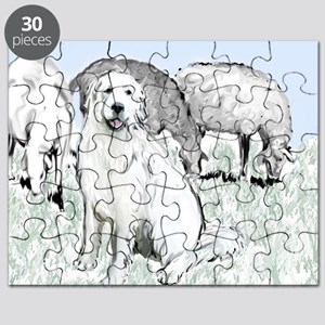 great pyrenees pastoral2 Puzzle