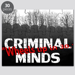 Criminal Minds Up In 30 Puzzle