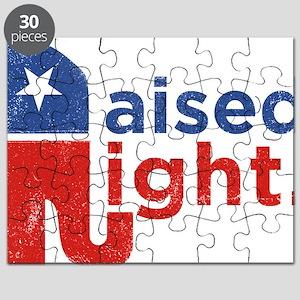 Raised Right Puzzle