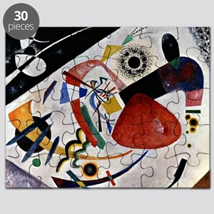 Kandinsky - Red Spot II Puzzle
