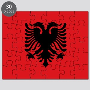 Albanian flag Puzzle