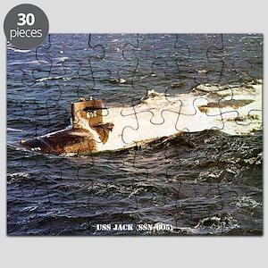 jack large framed print Puzzle