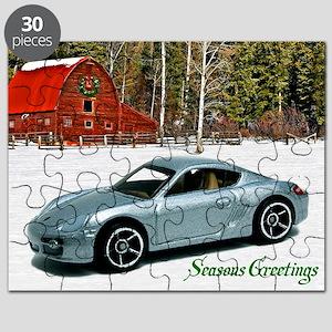 Hot Wheels_Porsche Cayman S_Silver_Wood Bar Puzzle