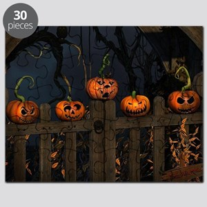 All the pretty pumpkins in a row Puzzle
