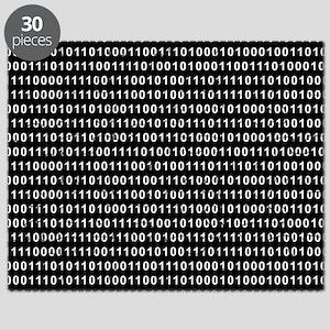 Binary Code 010 DOS Puzzle