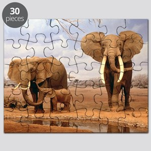 Family Of Elephants Puzzle