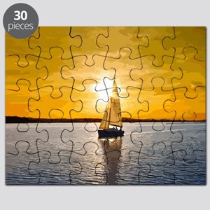 Sailing into the sunset Puzzle