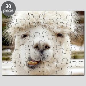 Funny Alpaca Smile Puzzle