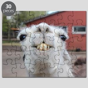 Funny Alpaca Llama Smile Puzzle