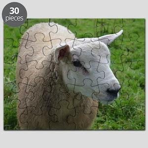 Cuddly Lamb Puzzle
