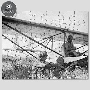 Antonov and his glider, 1923 Puzzle