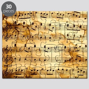 Classical Musical Notes Puzzle