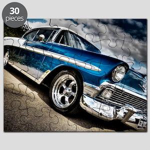 Retro car Puzzle